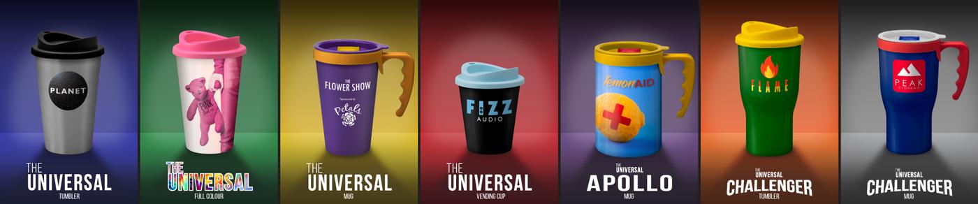 Universal Mugs Range