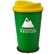 Universal Tumblers Reusable Printed Mugs Green