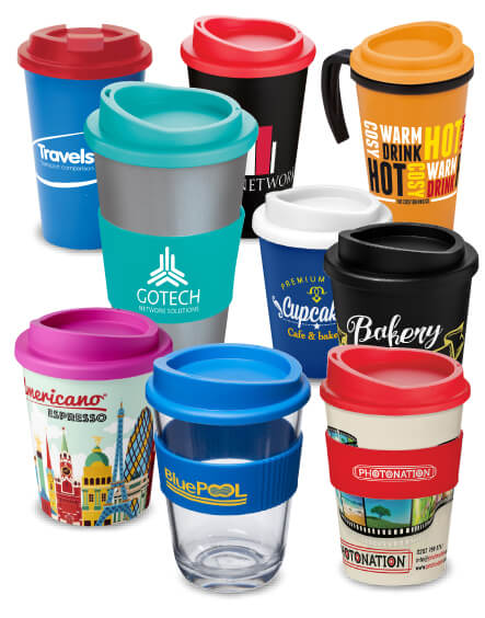 americano range of mugs