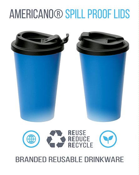 Americano Reusable Spill Proof Lids