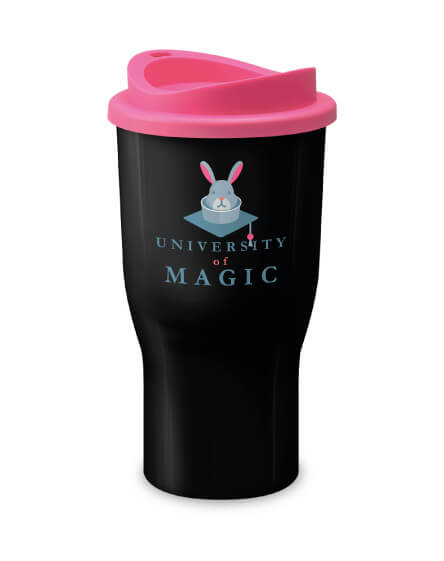 Universal Challenger Tumbler Black and Pink