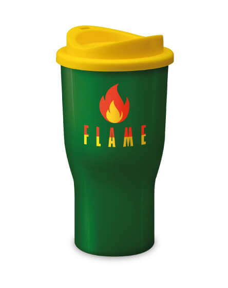 Universal Challenger Tumbler Green and Yellow