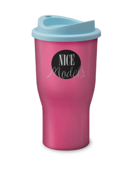 Universal Challenger Tumbler Pink and Blue