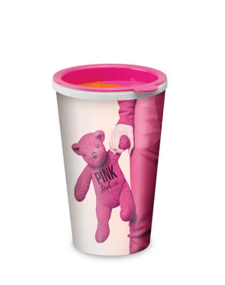 universal full colour branded reusable coffee mugs