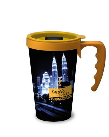 universal mugs full colour printed and branded reusable coffee mugs