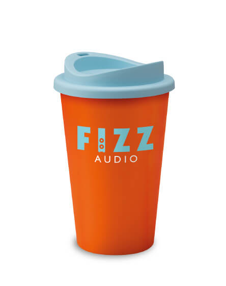 Universal Mugs Branded Reusable Tumbler Orange