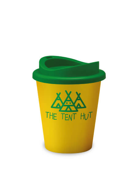 Universal Vending Mugs Yellow Green