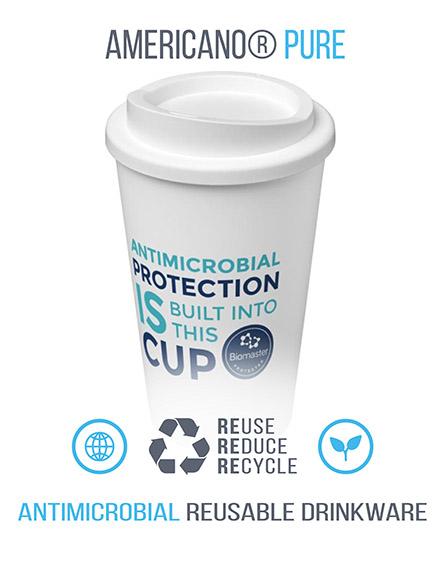 branded antimicrobial reusable mugs