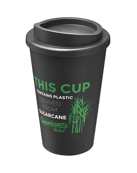 americano renew sugarcane tumblers branded for business
