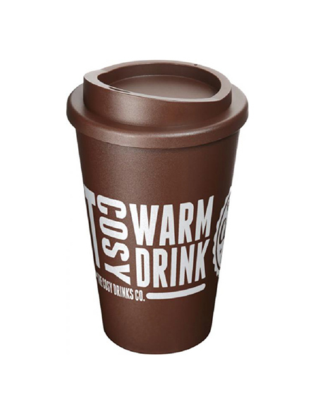 americano reusable cups brown