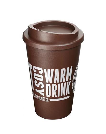 americano reusable cups brown