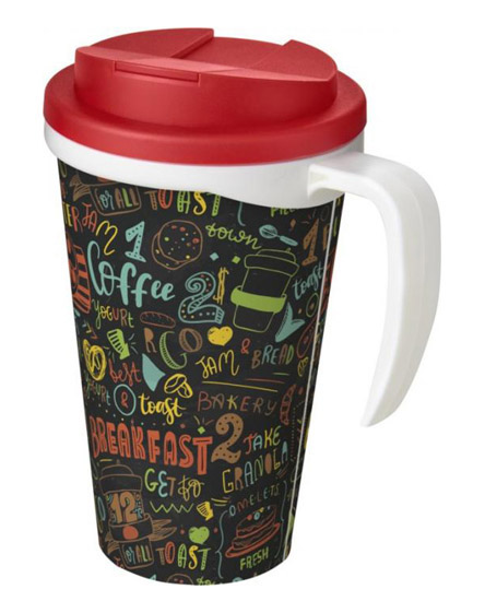 americano reusable mugs handle spill proof lids