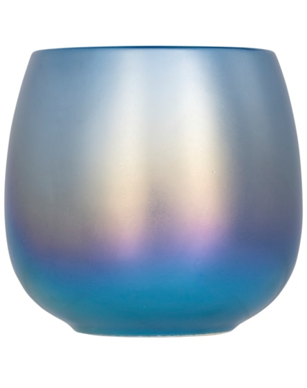 branded glitz iridescent ceramic mug