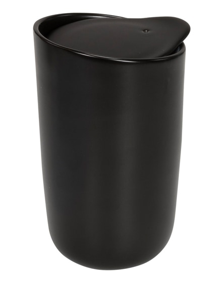 branded mysa double-walled ceramic tumbler