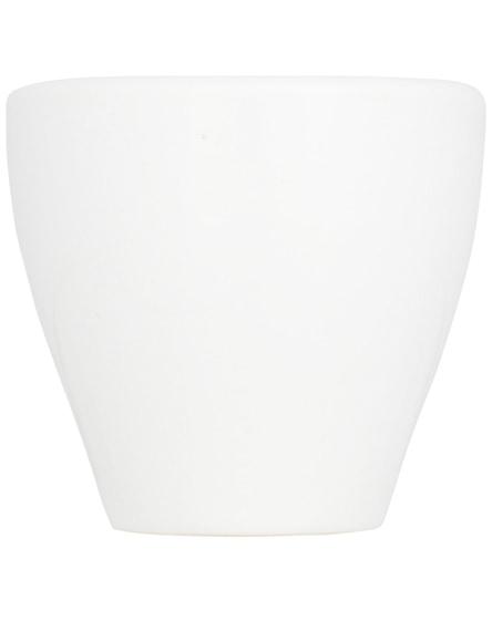 branded perk ceramic espresso mug