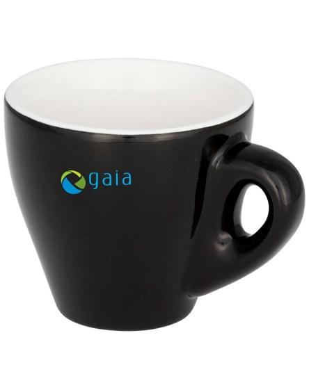 branded perk colour ceramic espresso mug
