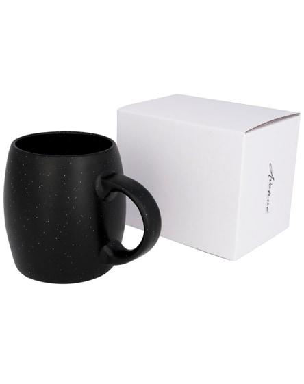 branded stone ceramic mug