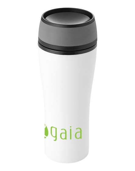 branded curve leak-proof insulated tumbler