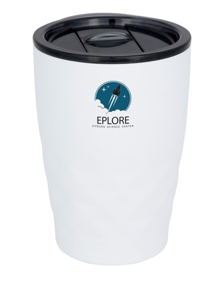 branded geo copper vacuum insulated tumbler