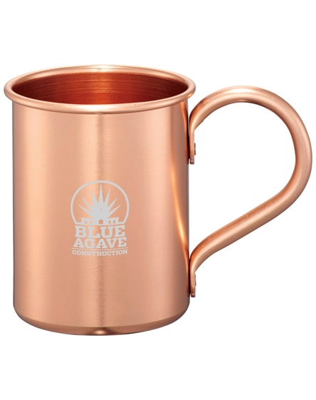 branded moscow mule mugs gift set