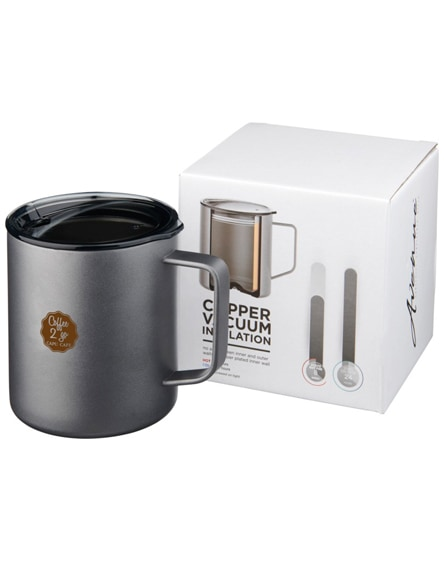 branded rover copper vacuum insulated mug
