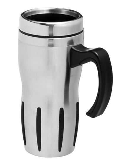 branded tech insulated mug