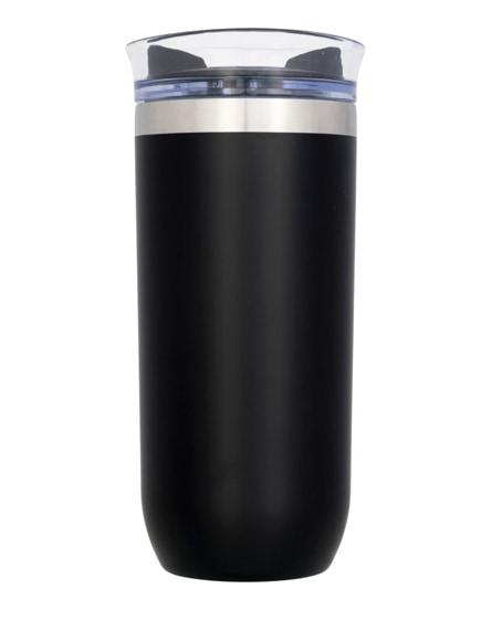 branded twist copper vacuum insulated tumbler