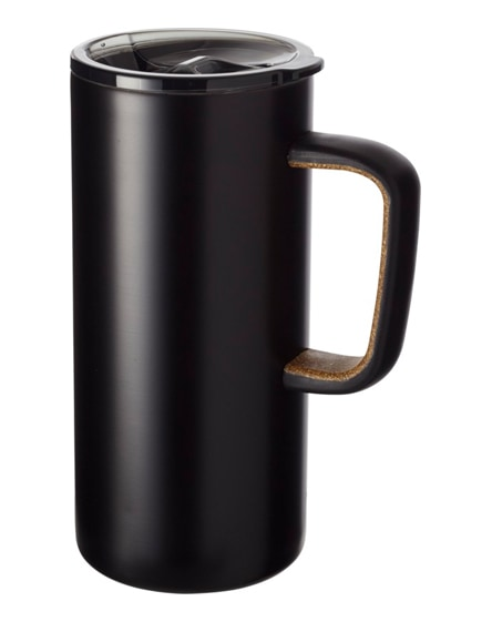 branded valhalla copper vacuum insulated mug