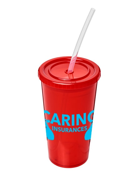 branded stadium double-walled cup