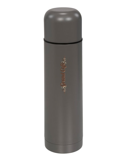 branded gallup matte vacuum insulated flask