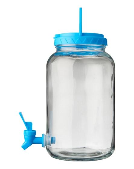branded festi 5-piece beverage dispenser set