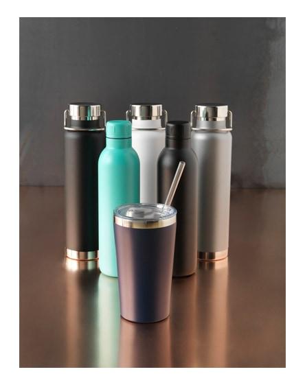 branded thor copper vacuum insulated tumbler