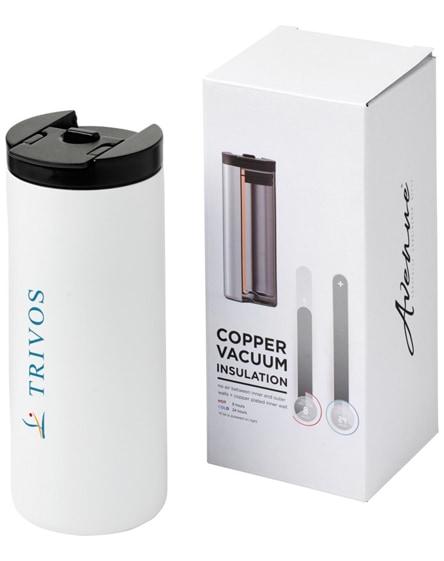 branded lebou copper vacuum insulated tumbler