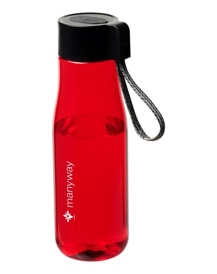 branded ara tritan sport bottle with charging cable