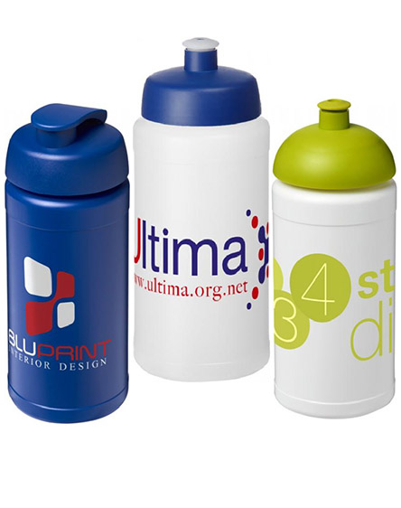 baseline branded sports water bottles 500ml