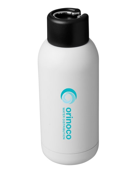 branded brea vacuum insulated sport bottle