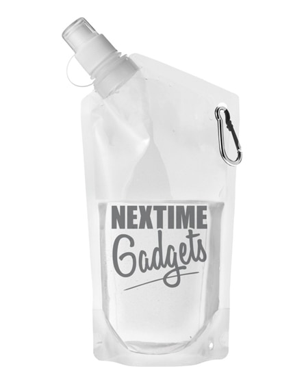 branded cabo water bag with carabiner