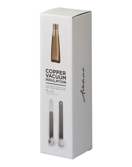 branded duke copper vacuum insulated sport bottle