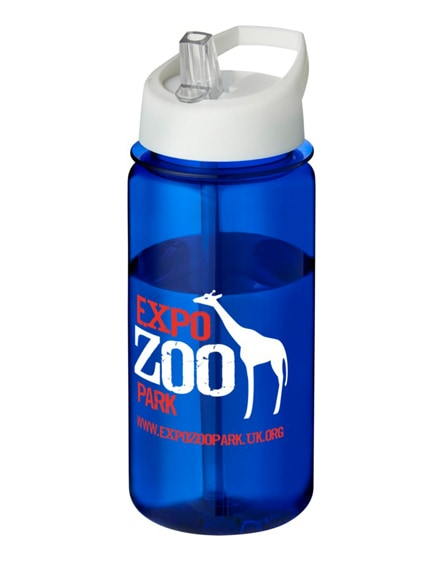 branded h2o octave tritan spout lid sport bottle