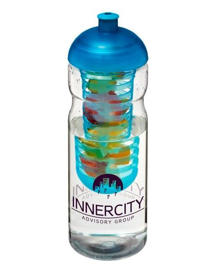 branded h2o base dome lid sport bottle & infuser