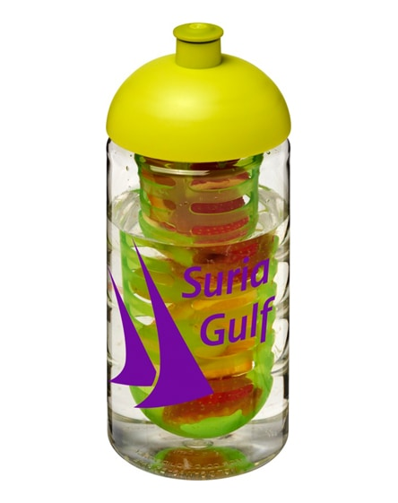 branded h2o bop dome lid sport bottle & infuser