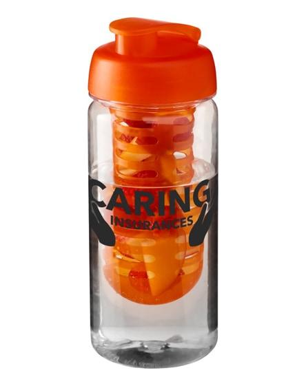 branded h2o octave tritan flip lid bottle & infuser