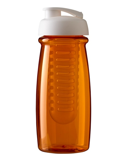 branded h2o pulse flip lid sport bottle & infuser