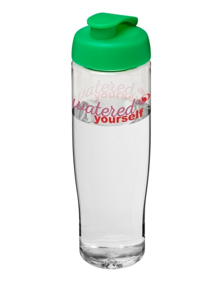 branded h2o tempo flip lid sport bottle