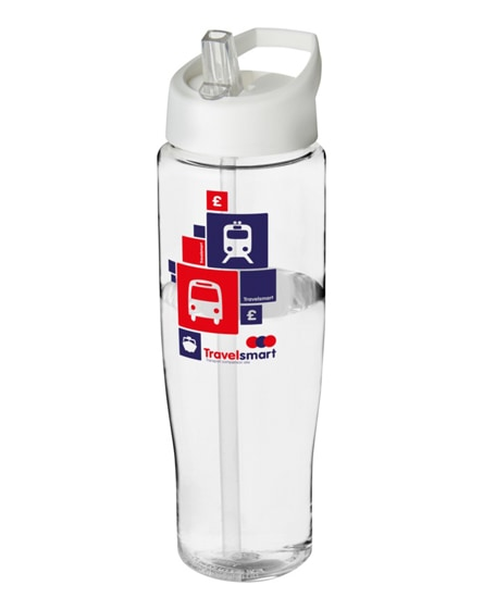branded h2o tempo spout lid sport bottle