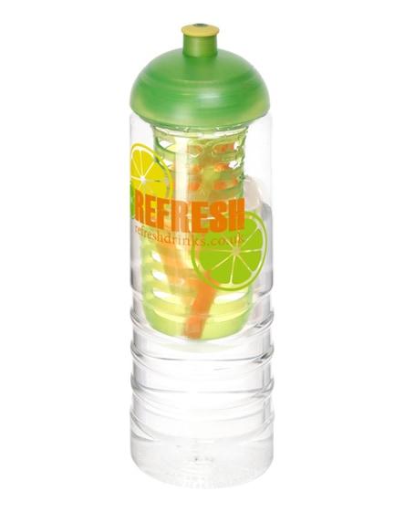 branded h2o treble dome lid bottle & infuser