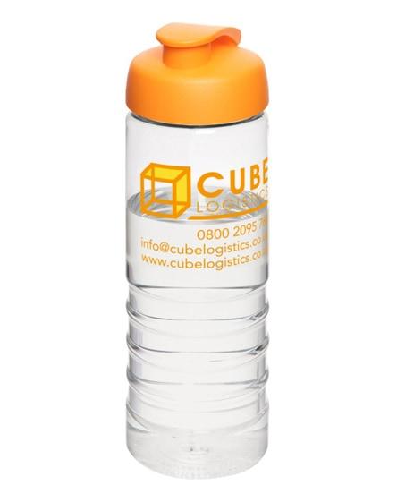 branded h2o treble flip lid sport bottle