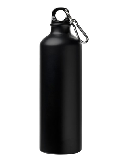 branded pacific matte sport bottle with carabiner