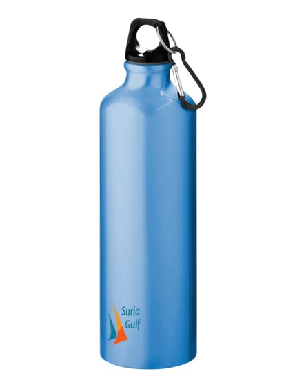 branded pacific sport bottle with carabiner