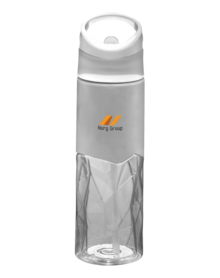 branded radius tritan geometric sport bottle